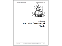 Archibus - 8220 - Navigation: Activities, Processes, and Tasks cover