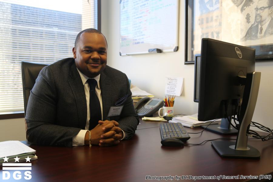 DC Office of Human Rights Deputy Director Rahsaan Coefield