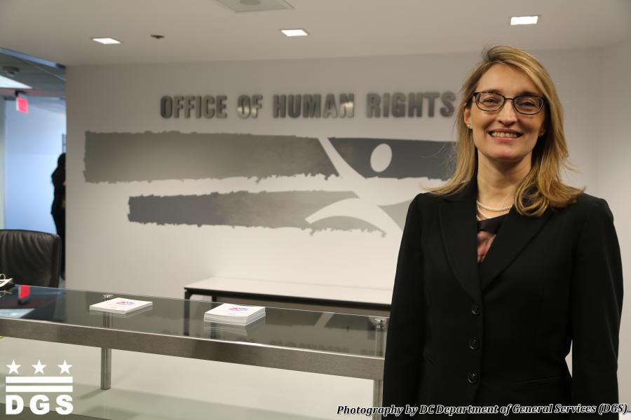 DC Office of Human Rights Director Monica Palacio