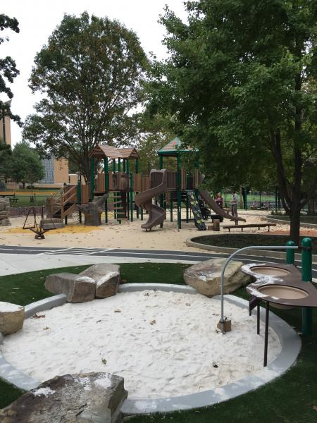 Completed Forest Hills Playground