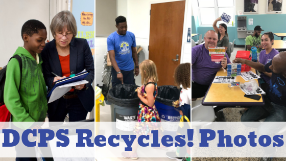 DCPS Recycles! Photos