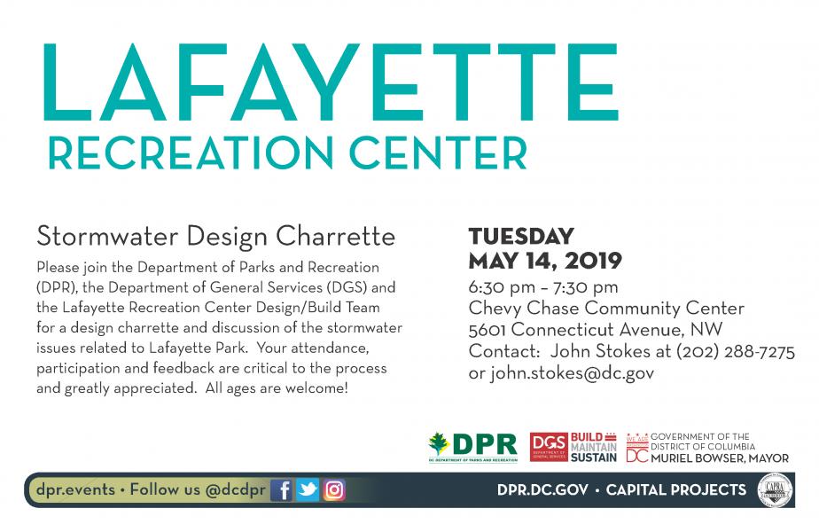 Lafayette Recreation Center-Stormwater Design Charrette | dgs