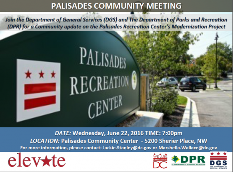 Palisades Community Meeting Flyer (June 22, 2016)