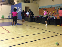 Benning Stoddert Recreation Center - basketball court