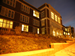 Cardozo High School photographed at night