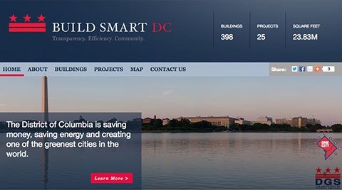 Build Smart DC graphic from the website