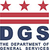 DGS logo graphic