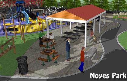 Noyes park project dgs for 111 k street ne 10th floor washington dc 20002