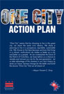 One City Action Plan graphic