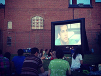 Stead Park neighborhood movie night