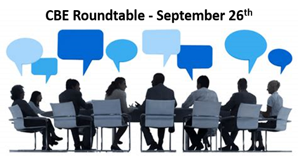 CBE Roundtable Sep 26 2018