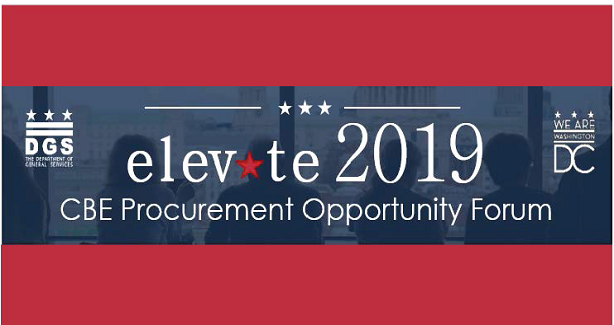 Elevate 2019 CBE Procurement Opportunity Forum