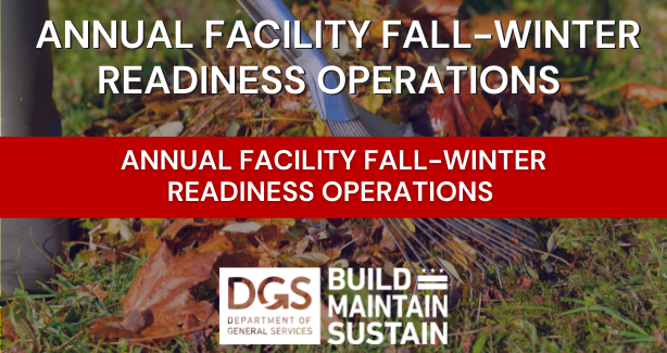 Annual Facility Fall - Winter Readiness Operations