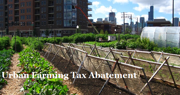 Urban Farm Tax Abatement