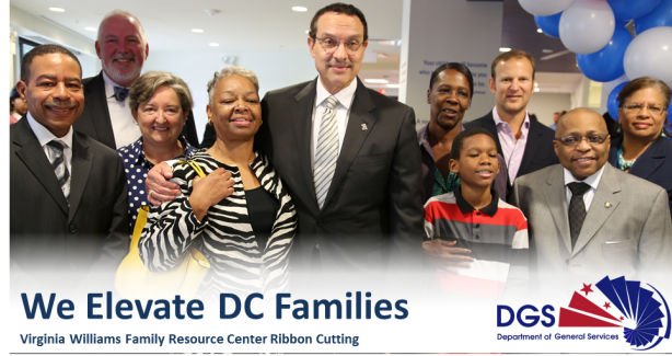 Virginia Williams Family Resource Center Ribbon Cutting Carousel Graphic