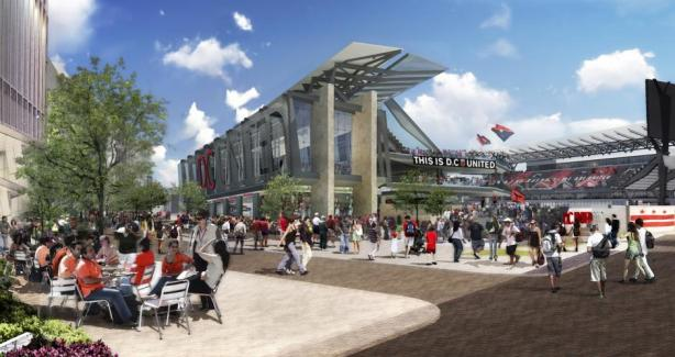 Concept Design of Stadium (day)