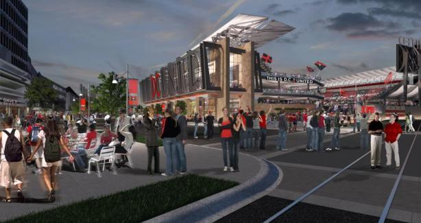 Concept Design of Stadium (night)