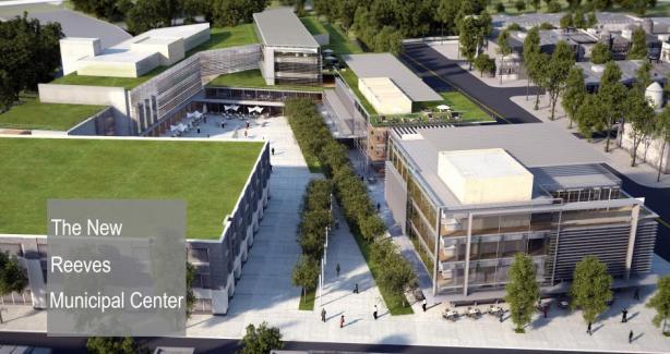 Concept Design of Proposed Municipal Center