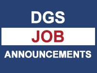 DGS Job Announcements