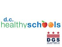 DGS DC Healthy Schools logo