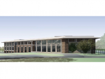 Brookland Middle School Rendering