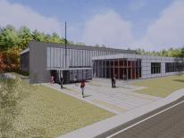 Ridge Road Recreation Center Rendering