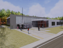 Ridge Road Recreation Center Rendering