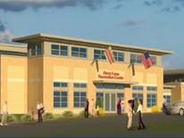 Barry Farm Recreation Center - rendering