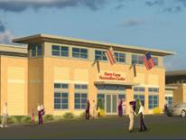 Barry Farm Recreation Center - rendering