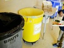 DCPS Recycles! program - sorting bins