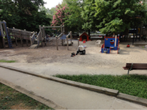 Forest Hills Park and Play DC Playground - existing conditions