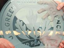 DGS Leed Platinum Award