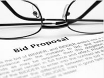 Eyeglass and bid proposal document