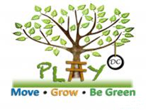 Play DC Playground logo