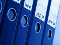 Blue RFP Binders