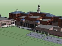 Jesse Reno School - rendering