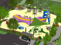Sherwood Play DC Playground Rendering 2